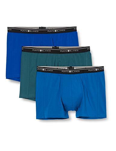 Punto Blanco Herren Basix Boxershorts, Multicolor, 60