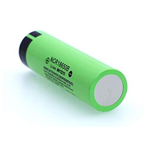 N/D 3.7 v 3400mah GrüNe Batterien, Original Ncr18650b Lithium Wiederaufladbare Batterie für Taschenlampe Und Andere Home Electronic Products Zubehör 18*65mm/0.7*2.6in 1pcs