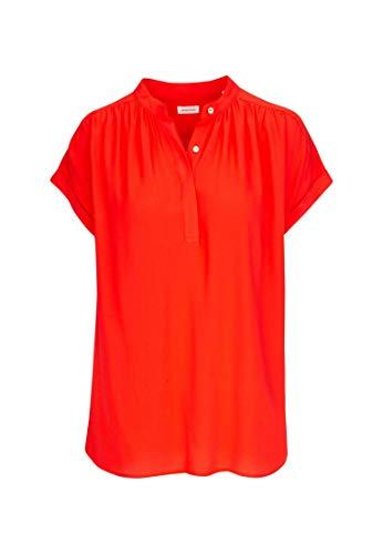 Seidensticker Damen Fashion Arm Bluse, Rot (45), 40
