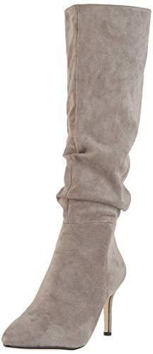 Buffalo Damen Fearne Hohe Stiefel, Beige (Taupe 001), 40 EU