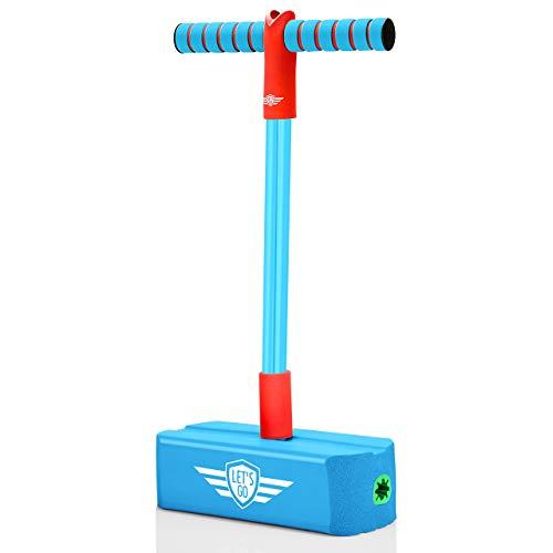 Tesoyzii Spielzeug ab 4-8 Jahre, Stelzen Kinder Spielzeug Jungen 4-8 Jahre Geschenk Mädchen 4 5 6 7 8 Jahre Geschenke für Jungs 4-8 Jahre Pogo Stick Spielzeug Draussen ab 4-8 Jahre