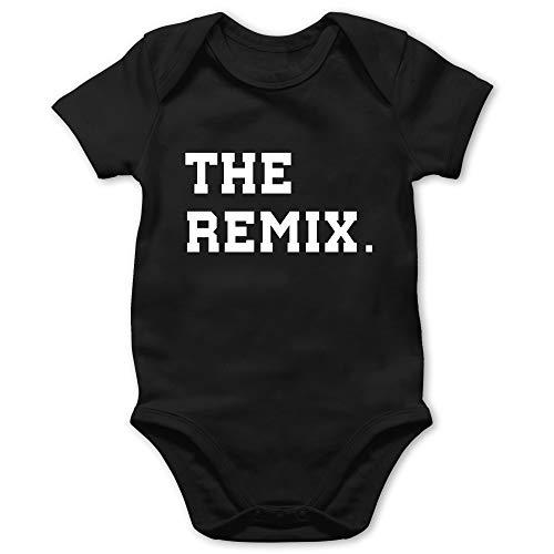 Shirtracer Partner-Look Familie Baby - The Original The Remix Kind - 18/24 Monate - Schwarz - Sohn - BZ10 - Baby Body Kurzarm für Jungen und Mädchen