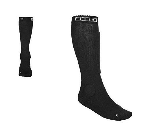 Ion BD_Sock 2.0 Protection Protektoren Socken schwarz, Farbe:Schwarz;Größe:43-46