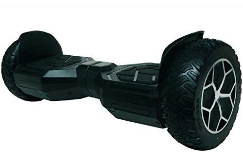 Blackpcs M408-BL Hoverboard Electrico 8' Bocina Bluetooth, Negro, Negro