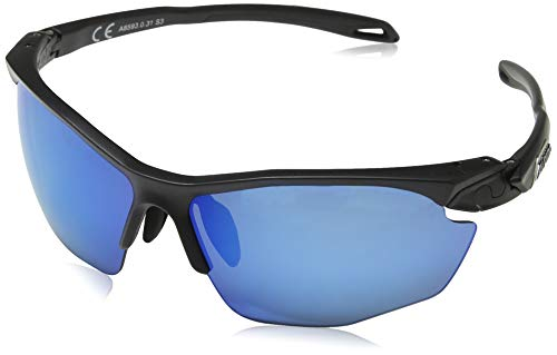 ALPINA TWIST FIVE HR CM+ Sportbrille, Unisex – Erwachsene, black matt, one size