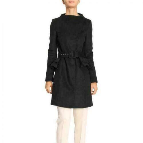 PATRIZIA PEPE Cappotto Donna Giacca Elegante in Lana Luxury Clothing (44)