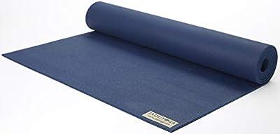"Jade Yoga - Harmony Yoga Mat (3/16"" Thick x 24"" Wide x 68"" Long - Color: Midnight Blue)"