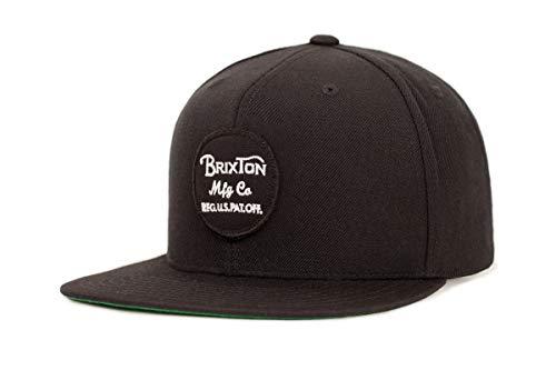 Brixton Unisex Kappe Wheeler Snapback WHEELER Snapback black, One Size, BRIMCAPWHES