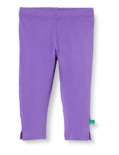 Fred'S World By Green Cotton Alfa 3/4 Leggings, Violet (Purple 018363301), 98 Bébé Fille
