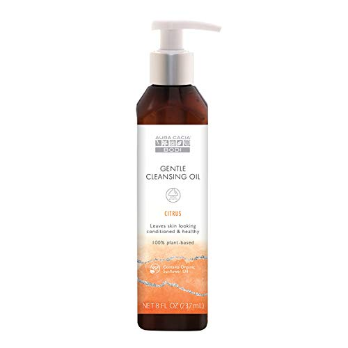 Aura Cacia Bodi Citrus Gentle Cleansing Oil | GC/ MS Tested for Purity | 240ml (8 fl. oz.)