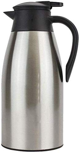 Leuke koffiepot. Coffee Pot Household Insulation Potten RVS European Style Insulation Pots Kettle Potten met grote capaciteit 1000ml 1300ml 1600ml 1900ml for koffie en thee drinken Etc (Kleur: Zilver,