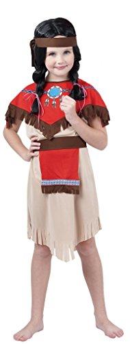 Rire Et Confetti - Fiacow011 - Déguisement pour Enfant - Fille Indienne