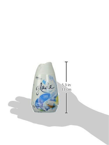 Glade Solid Air Freshener, Deodorizer for Home and Bathroom, Clean Linen, 6 Oz, Pack of 1