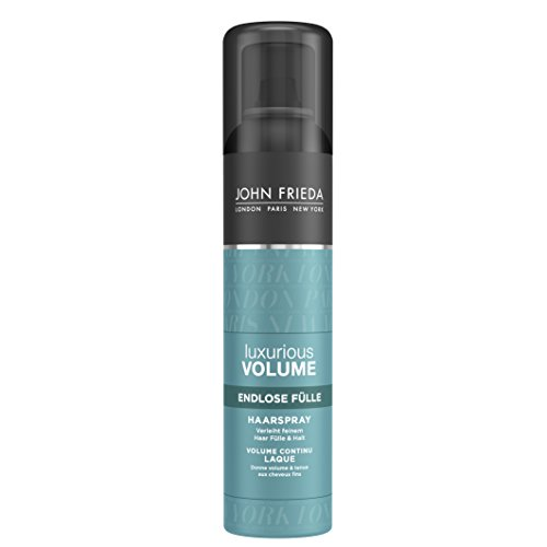 John Frieda Luxurious Volume Endlose Fülle Haarspray, 2er Pack (2 x 250 ml)
