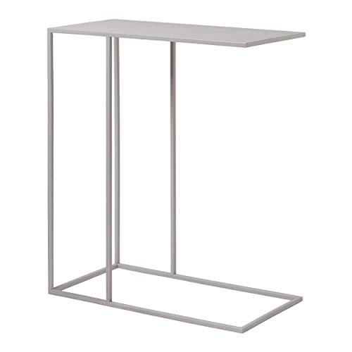 Blomus Beistelltisch FERA, Tisch, Stahl pulverbeschichtet, Mourning Dove, 50 x 25 cm, 66013