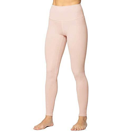 quming Training Fitness Estiramiento Yoga Pilates,Leggings elásticos de Ropa Interior Femenina, Pantalones Activos de Longitud de Fitness-BG_S