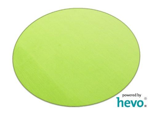 HEVO Romeo grün Teppich   Kinderteppich   Spielteppich 200 cm Ø Rund