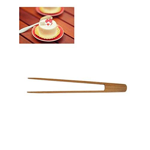 BESTONZON pinzas con Carmela (bambú–Pinzas de repostería larga