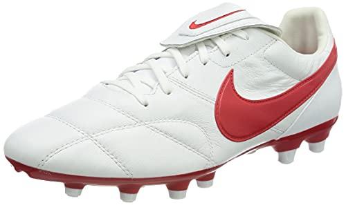 Nike The Premier II FG, Zapatillas de ftbol, White Univ Red, 36.5 EU