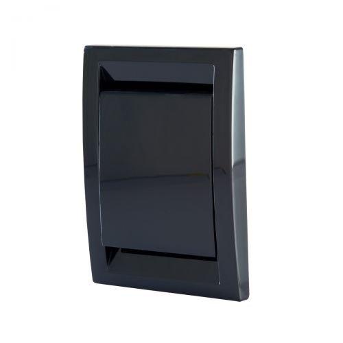 Trovac Saugdose rechteckig Deco Farbe Schwarz
