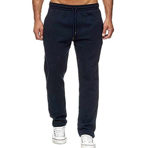 N\P Jogging Algodón Deporte Hombres Pantalones Largos Pantalones De Pista Deportes Hombres Pantalones Rectos