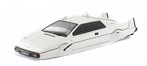 DRUCKGUSS Modell Lotus Esprit (James Bond The Spy Who Loved Me) (1: 43 Skala in weiß)