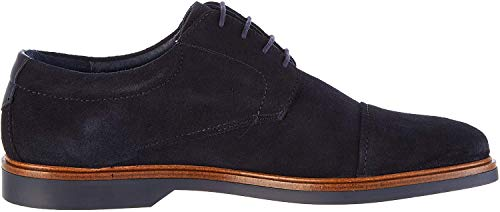 Martinelli Lenny 1384, Zapatos de Cordones Oxford para Hombre, Azul (Dark Blue Dark Blue), 42 EU