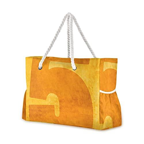 Bolsa de playa número cinco dispositivo de flotación bolsa de piscina, asa de cuerda con cremallera de gran capacidad para viajes, playa, gimnasio