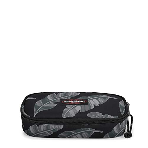 Eastpak Oval Single Astuccio, 22 cm, Nero (Brize Leave Black)