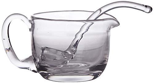 Better & Best Pñ Salsera de cristal con cuchara, pequeña, medidas 17x11,2x10...