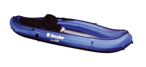 Sevylor Rio - Kayak Sit on Top (1 Persona), Color Azul, Talla 300 x 93 cm
