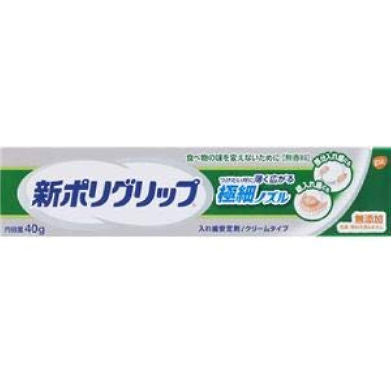 (まとめ)グラクソスミスクライン 新ポリグリップ 極細ノズル 40g 【×3点セット】