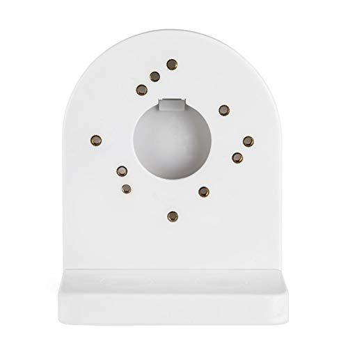 Cámara Domo CCTV Universal Cámara de Domo de plástico ABS Soporte de Montaje en Pared Soporte Blanco