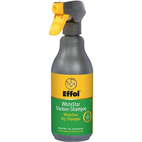 Effol WhiteStar - Champú seco, 500 ml