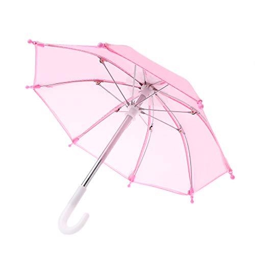 """Bunter Mini-Regenschirm für """"American Doll""""-Puppe von Blythe, 45,7 cm, Puppenzubehör, Baby-Fotografie-Requisiten, Kinder-Spielzeug 2"""