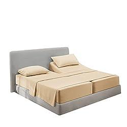 commercial Clara Clark Premier 1800 Series Bedding Set 4 Deep Pocket Sheets Mat Microfiber, Wrinkle, Fade, … clark clark sheets