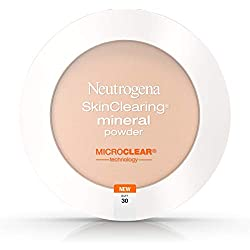 in budget affordable Mineral Powder Neutrogena Skin Clearing Mineral Powder, Buff 30