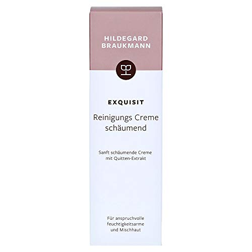 Hildegard Braukmann Exquisit femme/women, Cleansing Cream Foaming, 1er Pack (1 x 100 ml)