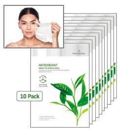 Korean Face Mask Skin Care - Peel Off K Beauty Hydrating Face Mask Sheet - 10 Pack Facial Masks with 6 Essences