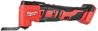 Milwaukee 2626-20 M18 18V Lithium Ion Cordless 18,000 OPM Orbiting Multi Tool with..