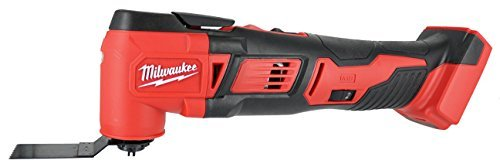 MILWAUKEE'S 2626-20 M18 18V Lithium Ion Cordless 18,000 OPM Orbiting Multi Tool with Woodcutting Blades and Sanding Pad with Sheets Included (Battery Not Included, Power Tool Only)