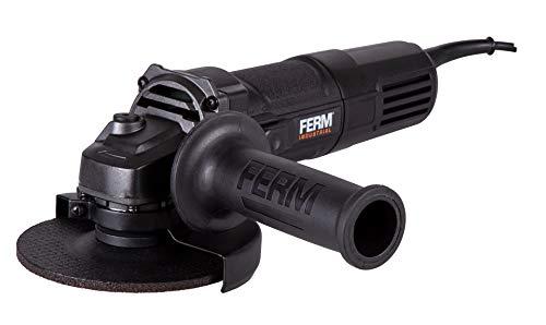 FERM professionele haakse slijper - 850 W - 125 mm - 3 m rubberen kabel