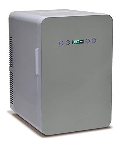 冷温庫 24L 保冷庫 -9℃~60℃ ミニ冷蔵庫 温度調節可能 温度表示 保冷ボックス 小型冷蔵庫 日本製ダブルペルチェ搭載 保温・保冷両用 家庭 車載 保冷温庫 自動車用 小型冷温庫 AC DC 電源 軽量 24L ホワイト VS-440WH