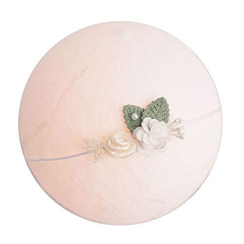 PZNSPY haarband met bloemenmeisjes voor fotoshootings voor pasgeborenen prinses Studio Headwear bloem haaraccessoires 23