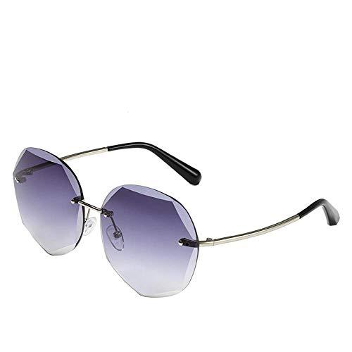 shuwen Gafas de sol para mujer con filtro de luz azul, marco de metal, antirrayos UV, resistente al viento, lentes de pivote HD, para viajes, montañismo, conducción, pesca, golf.