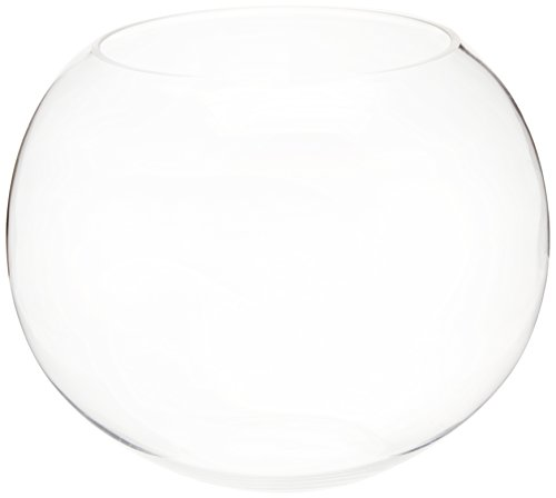 "CYS EXCEL 10 INCH Height Terarium Glass Bubble Bowl, 10"" Tall x 12"" Wide"