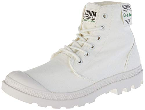 Palladium Unisex-Erwachsene Hi Organic U Hohe Sneaker, Weiß (Star White L47), 40 EU