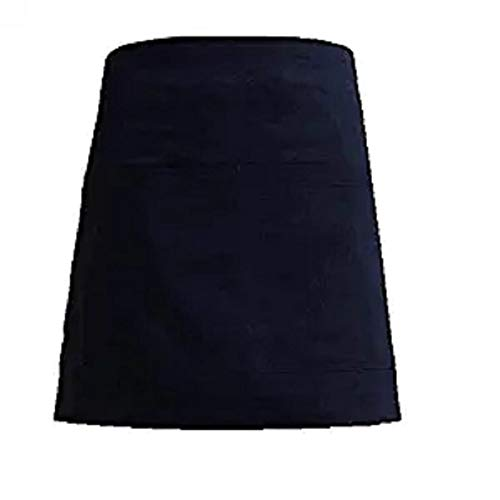 LissomPlume Schürze Arbeitsschürze Arbeitsschutzblech Küchenschürze Latzschürze Gastronomie Grillschürze - schwarz