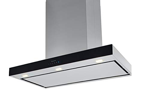 Review Panasonic FV-36RCQL1 WhisperHood IAQ Wall Mount Range Hood, Stainless Steel Finish, 36-Inch