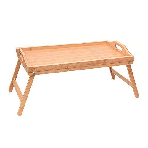 LOKOER Soporte plegable para ordenador portátil, escritorio para desayuno, ordenador portátil, mesa de comedor, sofá cama, bandeja de picnic, mesa de estudio